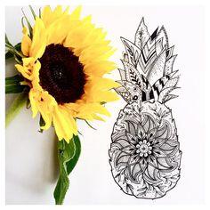 Résultats de recherche d'images pour « pineapple tattoo world Pineapple Drawing, Pineapple Art, Body Art Tattoos, New Tattoos, Sleeve Tattoos, Pinapple Tattoos, Sunflower Mandala Tattoo, Hawaii Tattoos, Vegas Tattoo