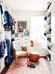 Celebrity Closet Organization Hacks You'll Want to Copy for 2017 via @WhoWhatWear