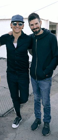 Chester❤ and Brad 2017