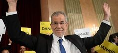 Ask Alexander Van der Bellen what his victory in Austria's presidential polls means, and he will tell you frankly that he has averted a crisis. Austria, Donald Trump, Presidential Polls, Buzzfeed News, Sports And Politics, Professor, Told You So, Sayings, Presidents