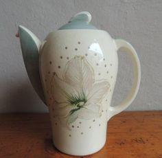 "English Porcelain - ART DECO SUSIE COOPER COFFEE SET - ""BLUE ORCHID"" DESIGN for…"