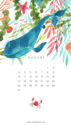All sizes | August Calendar / iPhone5 | Flickr - Photo Sharing!