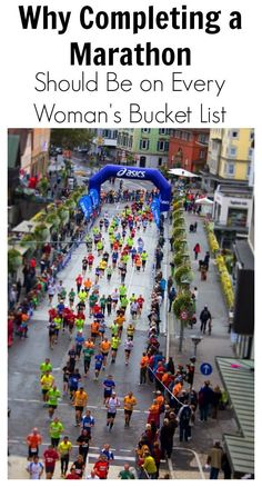 Why Completing a Marathon Should Be on Every Woman's Bucket List