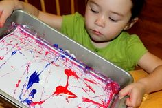 I have no idea what activities to do. Marble Painting is one. I have no idea what activities to do. Marble Painting is one. Projects For Kids, Crafts For Kids, Arts And Crafts, Diy Crafts, Fall Crafts, Painting Activities, Marble Painting, Marble Art, Fine Motor