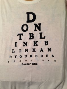 Dr. Who shirt I made for my son