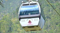 Cable Car -Manakamana ,Kurintar, Chitwan, Nepal Going Down