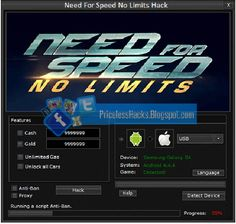 Need For Speed No Limits Hack Tool No Survey 2017 Free Download http://www.exacthacks.com/