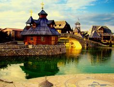 Ethno village Stanišić near Bijeljina, Bosnia Oh The Places You'll Go, Places To Visit, Paradise Places, Beautiful Places, Beautiful Pictures, To Infinity And Beyond, Travel Images, Travel Photos, Adventure Is Out There