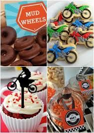 Motorcycles Birthday Party: Online Invitations And Ideas For Regarding Dirt Bike Decorations For Birthday Party - Best Home Decor Ideas Motocross Birthday Party, Motorcycle Birthday Parties, Dirt Bike Party, Dirt Bike Birthday, Motorcycle Party, Biker Birthday, Motorcycle Bike, 5th Birthday Party Ideas, Birthday Party Decorations