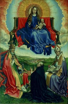 enthroned woman in art | Image: Wikipaintings