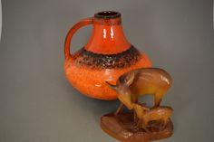 Vintage Vase/Krug / Carstens Tönnieshof / Gerda Heuckeroth | West Germany | WGP | 60er von ShabbRockRepublic auf Etsy