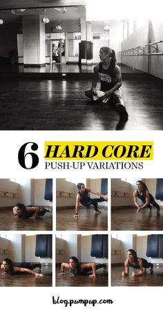 Bored of ordinary push-ups? Spice up your workout with these 6 push-up variations // The PumpUp Blog