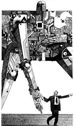 Sergio Toppi  Transformers….or something similar =)