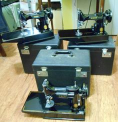 Featherweights Sewing Machines, Treadle Sewing Machines