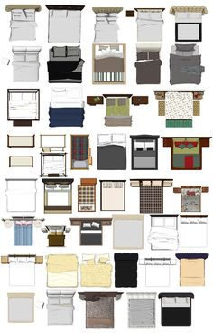 Free Photoshop PSD Bed Blocks 2 | Free Cad Blocks & Drawings Download Center