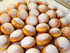 Faschingskrapfen - Austrian doughnuts! I used to make these pretty frequently ans they were always favorites- succulent, wonderful donuts!