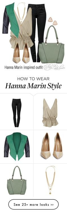 """Hanna Marin inspired outfit/PLL"" by tvdsarahmichele on Polyvore"