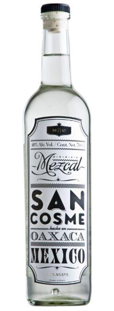 San Cosme Mezcal (Mexico)