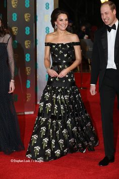 WhatKateWore.com (@WhatKateWore) on Twitter: 2017 BAFTA Awards, Royal Albert Hall, February 12, 2017-Duke and Duchess of Cambridge