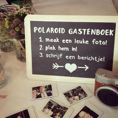 Polaroid gastenboek!