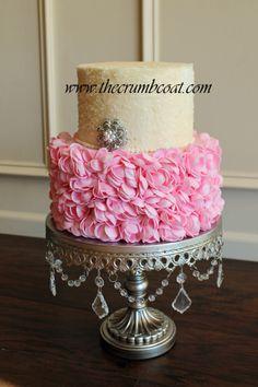 Shannon Bond Cake Design is a home-based cake studio providing delicious & beautiful, custom cakes and wedding cakes for the Olathe and Kansas City areas. Beautiful Wedding Cakes, Beautiful Cakes, Amazing Cakes, Cupcakes, Cupcake Cakes, Cake Boarders, Cake Decorating Techniques, Decorating Cakes, Cake Decorations