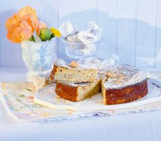 Eine Cheesecake-Variante aus Italien, die mit mildem Ricotta und würzigen Amarettini mit feinem Bittermandelaroma zubereitet wird. Krispie Treats, Rice Krispies, No Bake Pies, Cheesecake Recipes, Vanilla Cake, Sweet Recipes, Sweets, Baking, Desserts