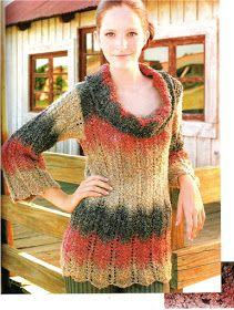 Delicadezas en crochet Gabriela: 38 Prendas tejidas paso a paso New Image, Tunic Tops, Sweaters, Dresses, Women, Fashion, Tricot, Knit Wrap, Sweater Knitting Patterns