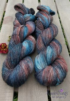 Sadie Sock HT 100g, Hand dyed yarn, Superwash merino wool, Single ply, 400 yds: Calico Cradle. by Lambstrings on Etsy