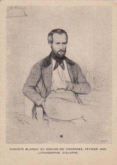 Auguste Blanqui au donjon de Vincennes - cartoliste