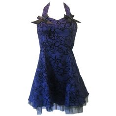 Flocking Dress Purple   Gothic Clothing   Emo clothing   Alternative clothing   Punk clothing - Chaotic Clothing found on Polyvore