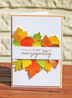 stempel einfach: Zum offiziellen Herbstanfang...