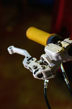 ISR radial master cylinder- a beauty!