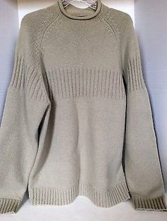 TIMBERLAND Men's Lambswool Blend Sweater Sz.L  Used