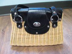 White House Black Market Black Wicker Handbag in Clothing, Shoes & Accessories, Women's Handbags & Bags, Handbags & Purses | eBay