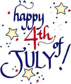 4th of July 2014 Clipart