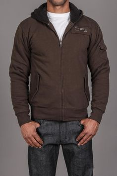 Ambiguous Clothing High Brow Sherpa Zip Up
