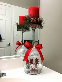 At Christmas, even your bathroom deserves some Christmas decorations/Christmas decorating styleChristmas Decorations/