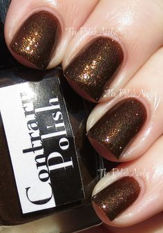 Contrary Polish On The Rocks Collection - Tiger's Eye