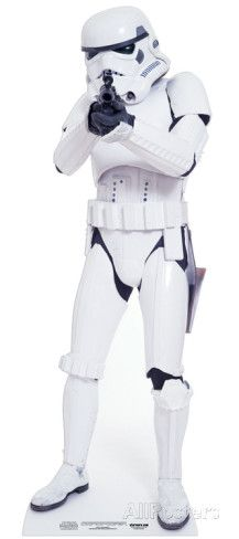 Stormtrooper Stand Up hos AllPosters.no