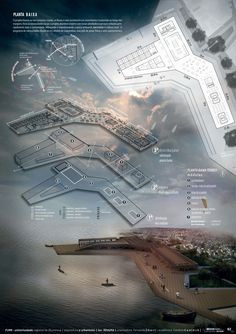 TCC- WATERFRONT- Community São Pedro Navegantes, SC project, images and boards: Caroline Coninck — Visir our shop canvart art — drawing architecture portfolio Presentation Board Design, Architecture Presentation Board, Project Presentation, Architecture Board, Architecture Drawings, Landscape Architecture, Architecture Design, Architectural Presentation, Presentation Pictures