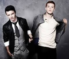 Noel Fisher and Cameron Monaghan( from Shameless: Ian Gallagher and Mickey Milkovich)