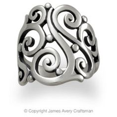 James Avery sorrento ring :) MY everyday ring <3