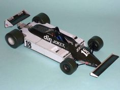 F1 Paper Model - 1981 GP USA West March 811 Paper Car Free Template Download