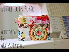 Just a quick tutorial on how to make a little coin purse with a pocket. Check out my new blog - http://www.whichwayeast.com Find Me on Instagram by Searching...