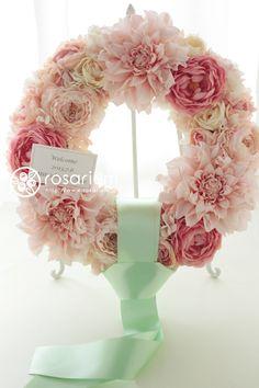 会場装花   rosarium