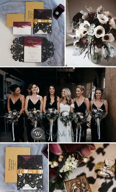 modern black laser cut wedding invitations with glittery belly band and tag wedding black Gold Wedding Theme, Maroon Wedding, Wedding Goals, Burgundy Wedding, Fall Wedding, Dream Wedding, Wedding In October, January Wedding Colors, Wedding Happy