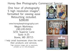 Do you own a small business? Need some new photos for your website to make it really stand out? Call me, let's do business! High Resolution Images, Bowie, Honey, Website, Business, Photos, Photography, Pictures, Photograph