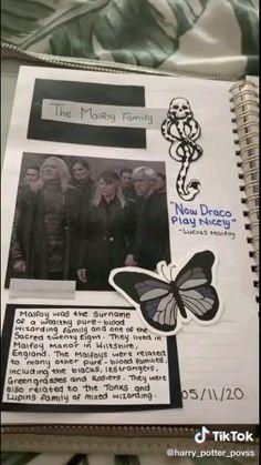 Harry Potter Notebook, Harry Potter Scrapbook, Harry Potter Journal, Harry Potter Spells, Harry Potter Draco Malfoy, Harry Potter Films, Harry Potter Universal, Slytherin, Hogwarts