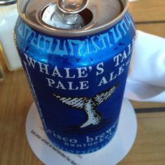 Whale's Tale Pale Ale. #HappyPlace @CiscoBrewers
