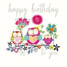 Happy Birthday Owl Pics Happy Birthday Card With Owls Happy Birthday Owl, Free Birthday Card, Happy Birthday Pictures, Happy Birthday Messages, Happy Birthday Quotes, Happy Birthday Greetings, Birthday Fun, Birthday Pictures For Facebook, Birthday Blessings